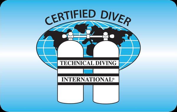 TDI : Espeleobuceo, rebreathers y buceo con mezcla de gases
